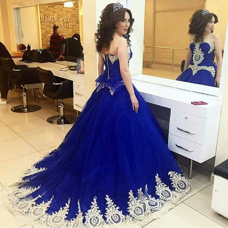 Ball Gown Quinceanera Dress Royal Blue Quinceanera Dress Royal Blue
