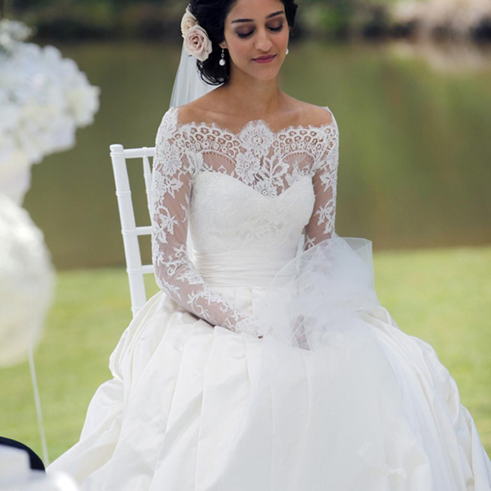 Taffeta Wedding Dresses,princess Wedding