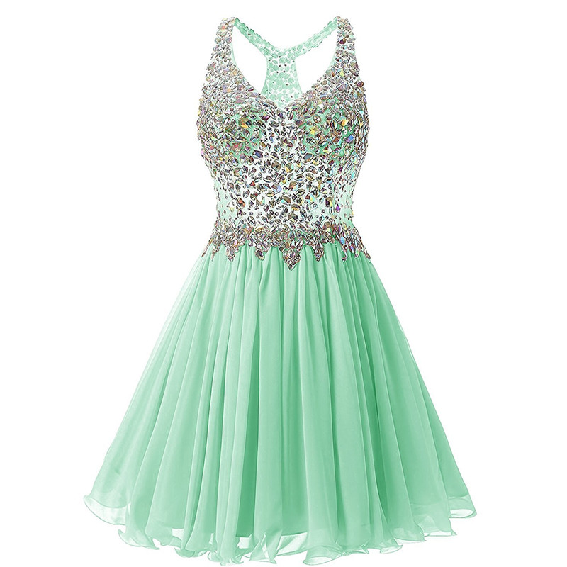 Mint Green Homecoming Dresses 759667a64