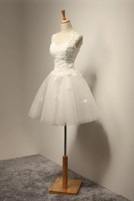 vintage wedding dress,short mini wedding dress,tulle wedding dress,wedding gowns 2017