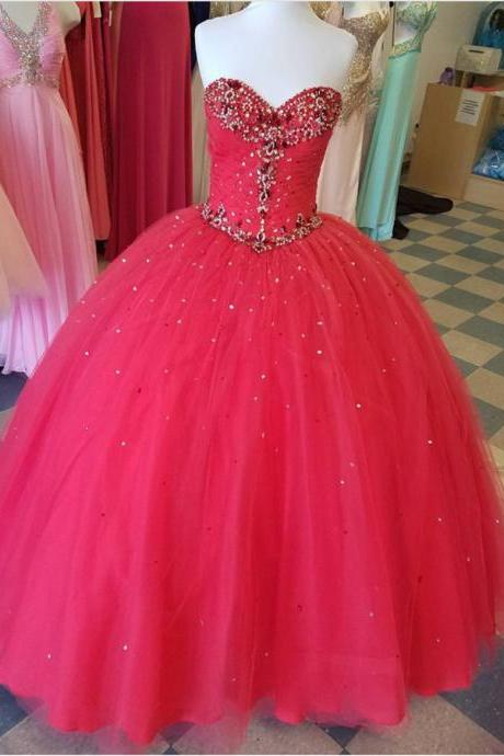 hot pink quinceanera dresses,sweetheart ball gowns,sweet 16 dress,sweet 15 dress,
