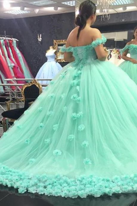 Mint Green Wedding Dress on Luulla