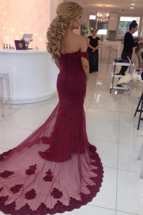 burgundy bridesmaid dresses,burgundy prom dress,long prom gown,elegant prom dresses 2017,sexy mermaid prom dress
