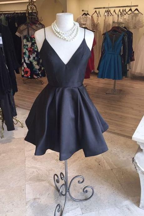 black homecoming dresses,short prom dress,women's party dress,short cocktail dresses,