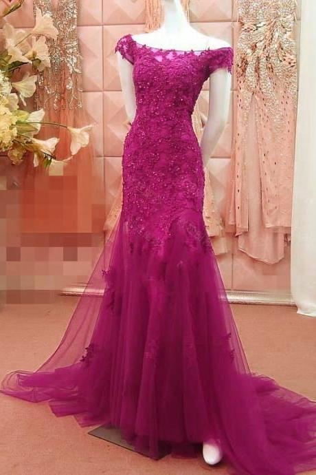 women's off the shoulder lace mermaid prom dresses evening gowns 2017 sexy